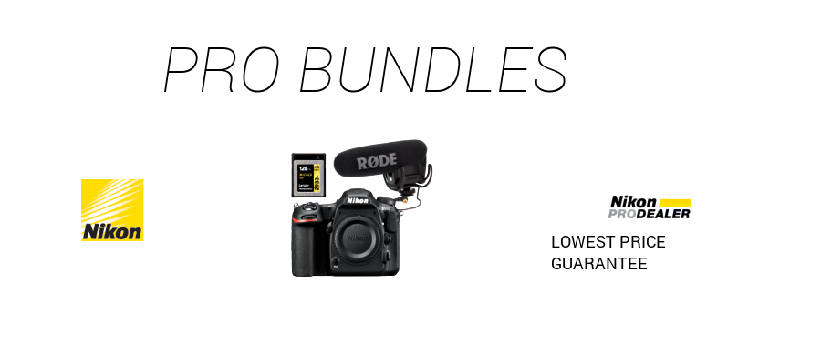 Nikon Pro Bundles Price Guarantee